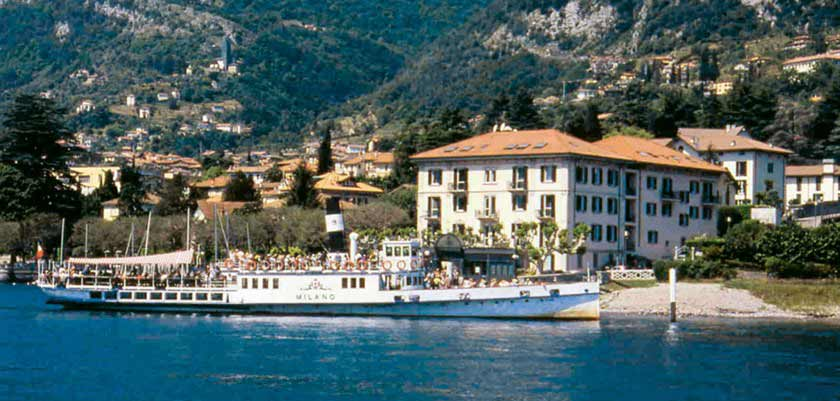 Lenno Hotel, Lenno, Lake Como, Italy - Exterior with view of the lake.jpg
